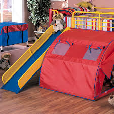 bunk bed with slide and tent. Full Size Of Bedroom Fabulous Bunk Bed With Slide And Tent 21