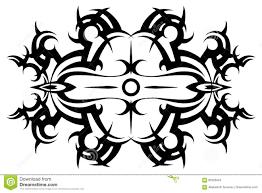 Tribal Tattoo Vector Tribaltattoo Stencil Pattern Design