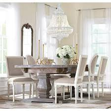White Distressed Kitchen Table Dining Table Kitchen Dining Room Furniture Furniture Decor