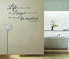 on bathroom wall sayings online shopping buy low price bathroom on toilet wall art quotes with words for bathroom wall my web value