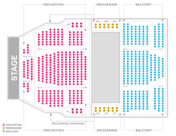 Moore Theater Seattle Seating Chart Seating Charts Sevenvenues