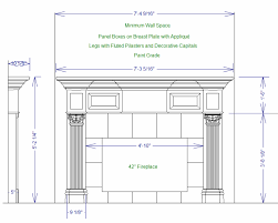 fireplace mantels plans here is a design weu0027ve worked up there is an option of an upper unit with a similar design