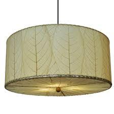cocoa leaf drum pendant light 497 an 01 jpg