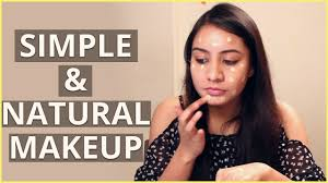 diy simple natural makeup tutorial for beginners