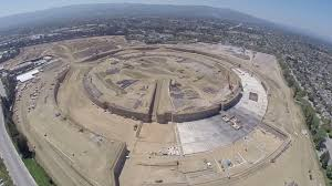 apple cupertino office. A Drone Filmed Stunning Aerial Video Of Apple\u0027s New \u201cunder Construction\u201d Campus In Cupertino Apple Office