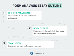 how to write a poem analysis essay outline and examples essay  poem analysis essay outline infographic