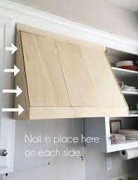 diy range hood cover from confessionsofaserialdiyer com
