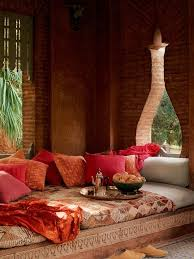 Relaxing Moroccan Living Rooms