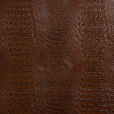 brown crocodile faux leather vinyl by the yard contemporary upholstery fabric by palazzo fabrics