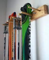garage ski rack ski racks garage snow ski storage rack wall mount 2 skis by on