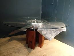 Industrial Fan Coffee Table Elphius Fluxs Industrial And Up Cycled Furniture Uk Fan Coffee