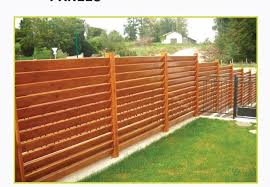 Garden Fences Panels in Uae Wooden Slat Fences Horizontal Wooden