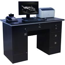 coaster contemporary computer workstation office desk table. Computer Desk Black Brenton Studio Limble Glass By Office Depot Furniture: Coaster Contemporary Workstation Table L