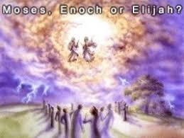 Image result for God takes enoch and elijah to be with him
