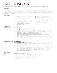 Waiter Resume Fascinating Waiter Resume Skills Waitress Functional Restaurant Server Examples