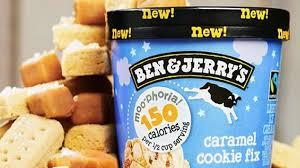 ice cream kings ben jerry s launch