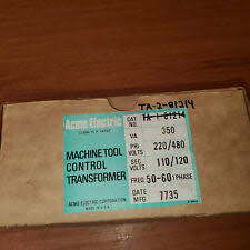 transformers in brand acme, voltage rating 24v ebay  at Acme Transformer T 2 53012 S Wiring Diagram