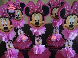 Minnie Mouse Baby Shower Decorations Similiar Minnie Mouse Centerpiece Ideas Keywords