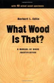 Wood Species Chart Buy What Wood Is That A Manual Of Wood Identification