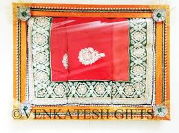 Saree Tray Decoration Decorative Wedding Saree Tray at Rs 60 single Saree Pack Karne 19