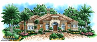 mediterranean home designs floor plans lovely mediterranean house plan waterfront golf course home floor plan
