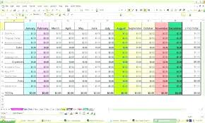 Template Example Business Budget Template Excel Expense Excel