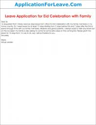 Letter To The Manager For Leave Under Fontanacountryinn Com