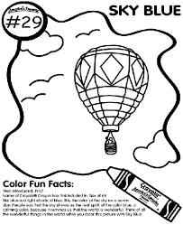 Small Picture No29 Sky Blue Coloring Page crayolacom