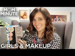 when should you start wearing makeup mom minute with mindy of cuteshairstyles one question sprung to