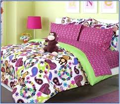 curious george bed set sheets toddler