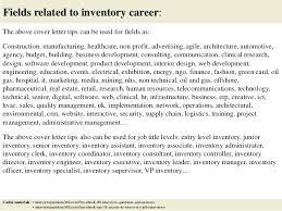 Inventory Associate Cover Letter Frankiechannel Com