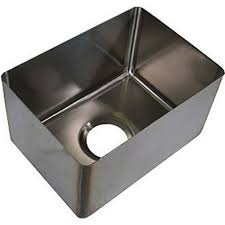 Bkfb 1410 8 14 Weld In Sink 1 Compartment 14 X 10d X 8deep By