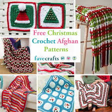 Free Christmas Crochet Afghan Patterns