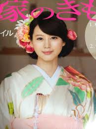 かわいい堀北真希のヘアスタイル Hairstyles 結婚式 和装 髪型