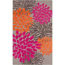 charming hot pink 8 ft x 11 ft indoor area rug
