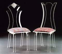 Diamond / Flower Acrylic Chairs