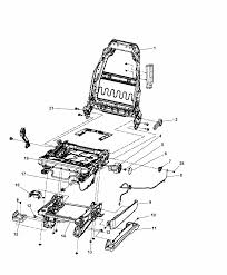 2014 jeep wrangler adjusters recliners shields driver seat diagram i2309563