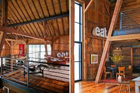 Barn House Interior Modern Michigan Barn House Conversion With Rustic Interiors