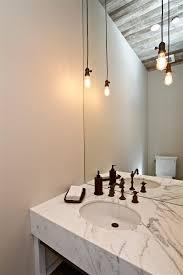 powder room pendant lighting. bare bulb pendants powder room farmhouse with edison pendant lighting n