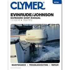 cwr electronics clymer evinrude johnson 1 5 125 hp outboards 1956 1972