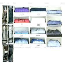 sweater organizer organizers no sag hanging essential 4 shelf closet in closets best clothes