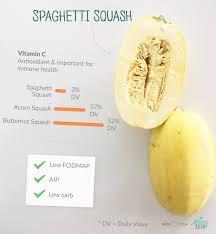 Spaghetti Squash Nutritional Values Paleo Foods Spaghetti Squash Paleo Leap