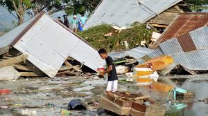 Hasil gambar untuk gambar gempa dan tsunami palu dan donggala