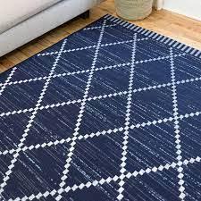 mccree geometric blue indoor outdoor