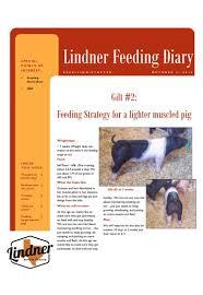 Feeding Tools Lindner Show Feeds