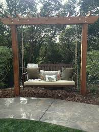 backyard swings for adults. Fine Adults My Sisteru0027s New Backyard Swing Garden_bench_swing Inside Swings For Adults S