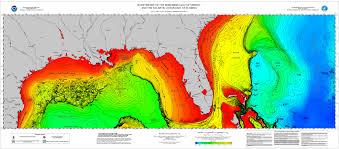 Noaa Bathymetric Charts International Bathymetric Chart Of The Caribbean Sea And The
