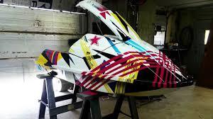 gopro timelapse custom jetski paint job