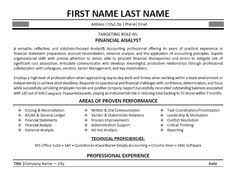 images about best financial analyst resume templates    click here to download this financial analyst resume template  http