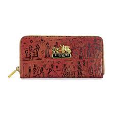 ... coach egyptian wall painting large red wallets edu